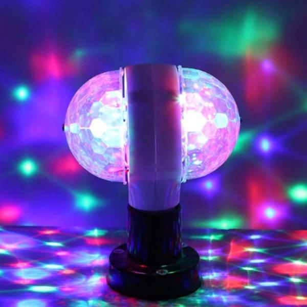 Đèn led xoay 7 màu E27 LED MAGIC BALL LIGHT