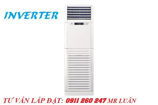 Ưu đãi giá tốt hơn với máy lạnh tủ đứng LG ivnerter 2.5hp model APNQ24