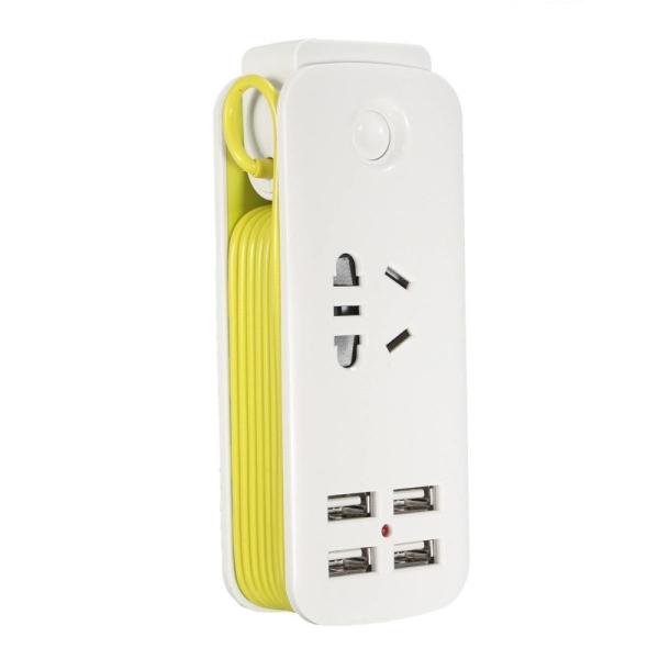 Universal 4 Ports USB Travel Strip Home Wall AC Charger Socket US Plug 5V 2.1A - intl