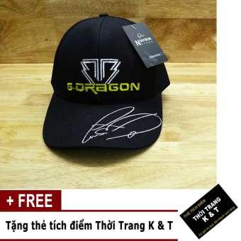 Nón tên G-DRAGONThời Trang K&T ( ĐEN )