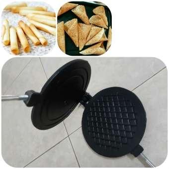Khuôn chống dính làm bánh Kẹp Cuốn bánh Ốc Quế Huỳnh Anh - HA006A