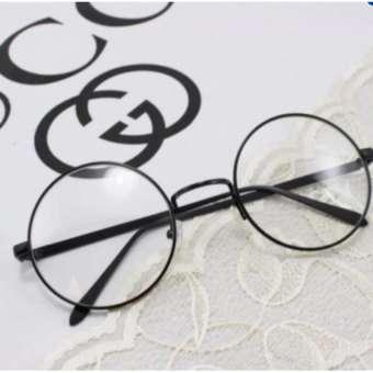Mắt kính ngố tròn tròng tốt -218