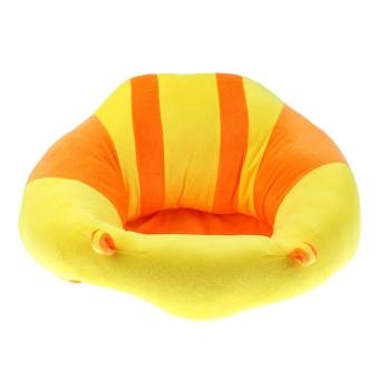 MagiDeal Kids Baby Support Seat Sit Up Soft Chair Cushion Sofa Plush Pillow Toy Yellow