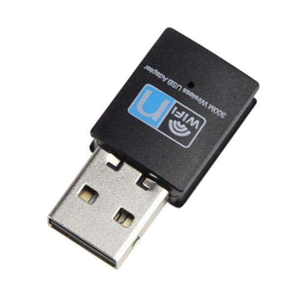 300 Mbps USB Wifi Không Dây 802.11 B/G/N Mạng LAN Dongle-quốc tế