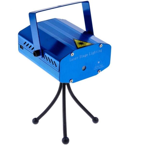 ĐÈN LED Sân Khấu Mini đèn laser DJ Disco KTV Ánh Sáng với 4 Hoa Văn hoa kỳ cắm-quốc tế