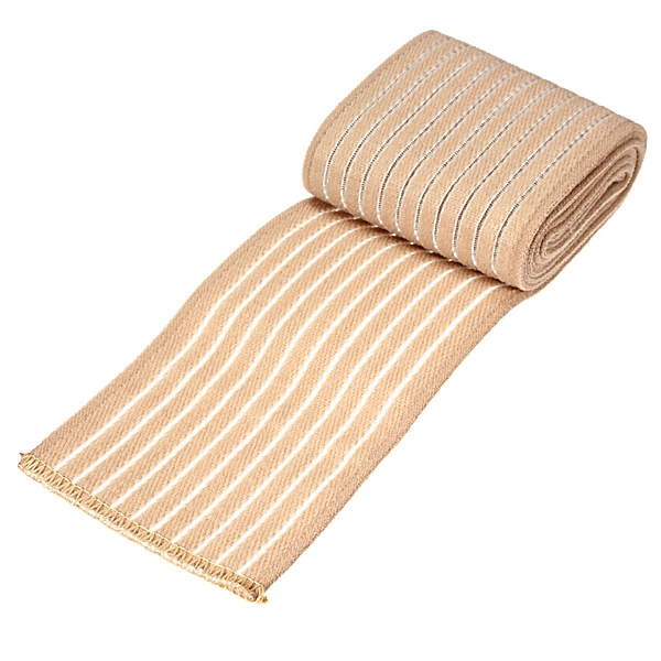 Soft Wrist Knee Ankle Elbow Support Wrap Sports Bandage (Beige) (Intl)