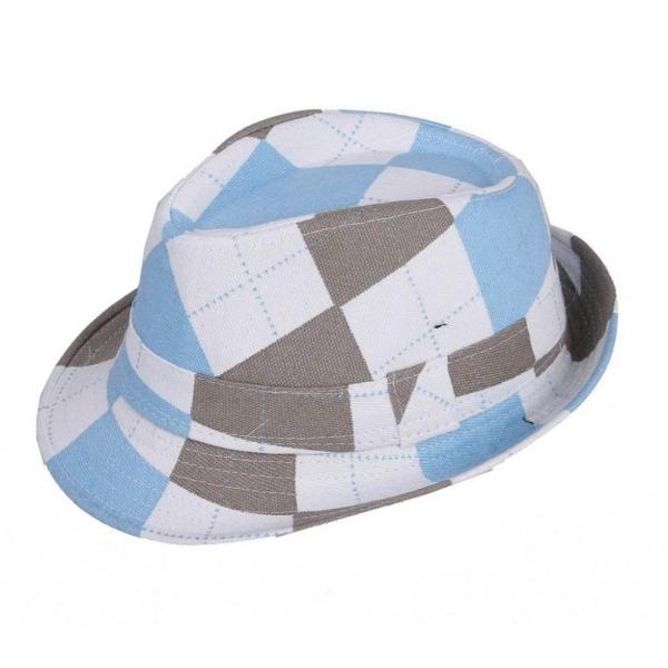 Bigood Cổ Điển Đầy Màu Sắc Kẻ Sọc Sọc Fedora Hat Con Panama Jazz Nón # MỘT-quốc tế