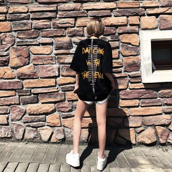 Áo Thun Nữ Dây Lưng In Thời Trang FrancisB TOP NU 1000057V1 B