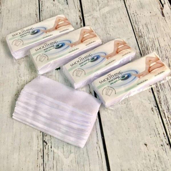 Giấy wax lông ( 100 tờ ) - thiết kế dạng tổ ong