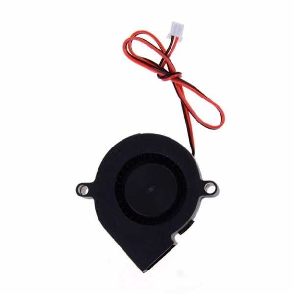 DC 12V 50mm Cooling Fan Blow Radial end / Extruder For RepRap 3D Printer SU