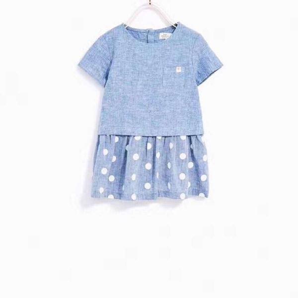 Váy Zara xuất dư bé gái 9m-4t