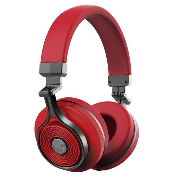 Bluedio T3 Tai Nghe Stereo Extra Bass Không Dây Bluetooth 4.1 (Đỏ)-quốc tế
