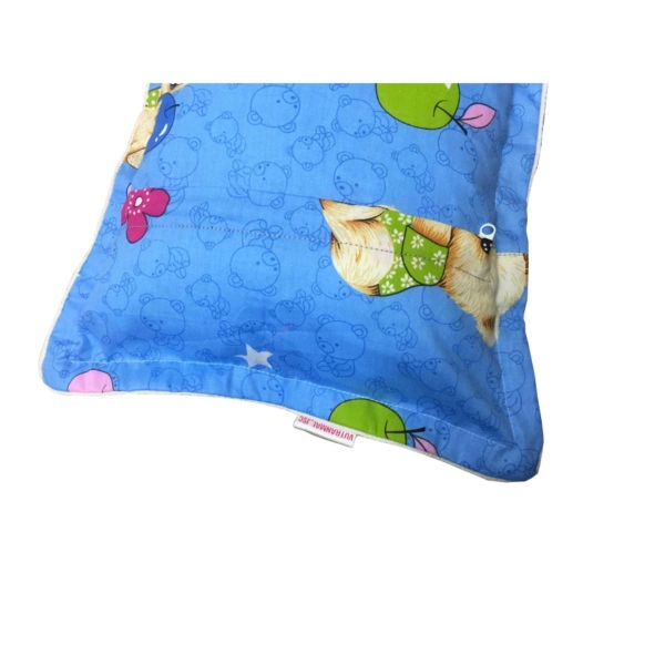 Gối ngủ cho bé Berry GNG08 (Gấu, xanh da trời)