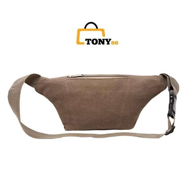 Túi đeo hông , Túi đeo bụng , ngang bụng, Túi bao tử, Túi đeo chéo cao cấp_TB1001-Tony88
