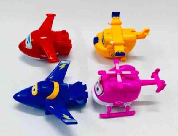 Đồ chơi đội bay siêu đẳng 4 con