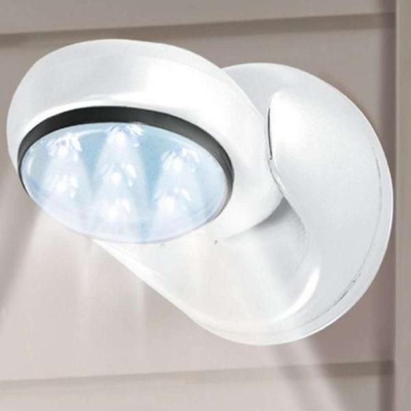 Đèn cảm ứng hồng ngoại tiết kiệm năng lượng xoay 360 độ