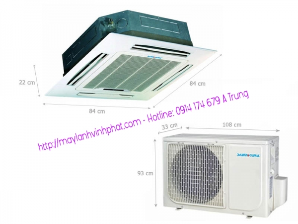 Cung cấp và Bỏ sỉ Máy lạnh âm trần Sumikura – Máy lạnh Sumikura 5.5HP giá rẻ