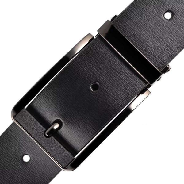 Thắt lưng da nam khóa kim ánh vàng cao cấp KKMV