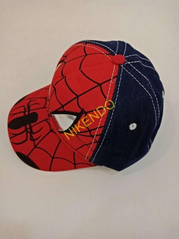 Mũ  lưỡi trai hình siêu nhân người nhện cho bé trai
