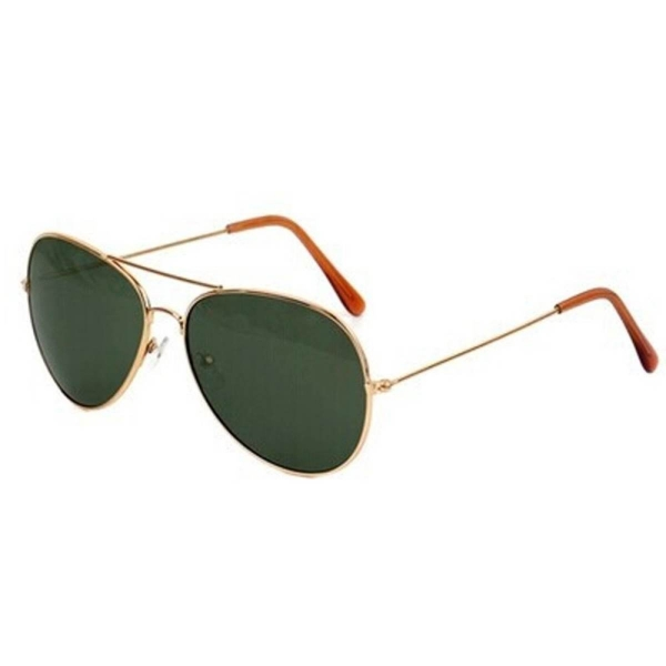 Witkey Fsb Fashionable UV400 Metal Frame Colorful Aviator Sunglasses Vintage Retro Sun Glasses For Women Men Ladies Drake Green WF-U73 (Color:As First Picture)