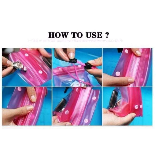 Túi chống nước điện thoại tiện dụng