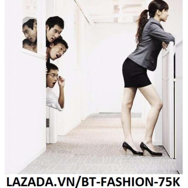 Chân Váy Công Sở Thời Trang Cao Cấp - BT Fashion VCS001 (Ngắn - Đen)