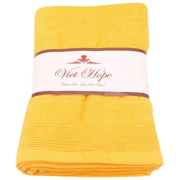 Khăn tắm cotton Vinatowel VP 20 70x140cm (Vàng)