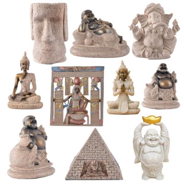 Huế Đá Sa Thạch Joss Tượng Phật Điêu Khắc Chạm Khắc Hình-Quốc Tế