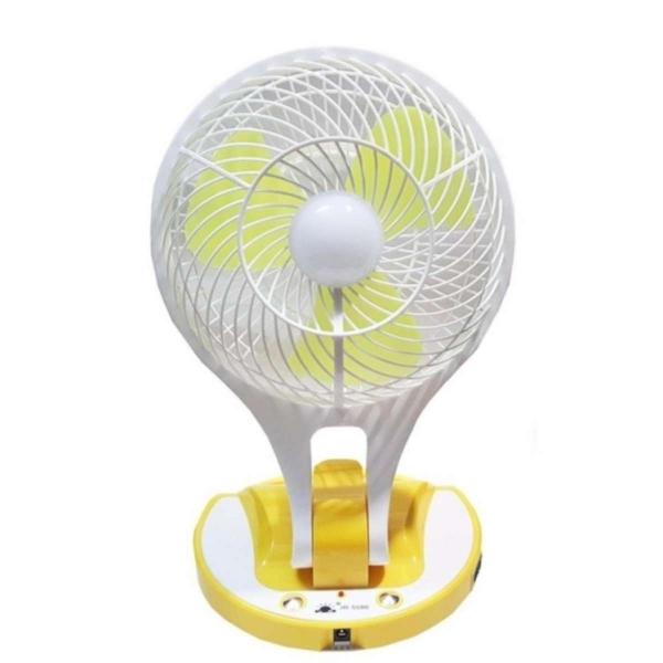 Quạt sạc điện kiêm đèn led siêu tiện dụng