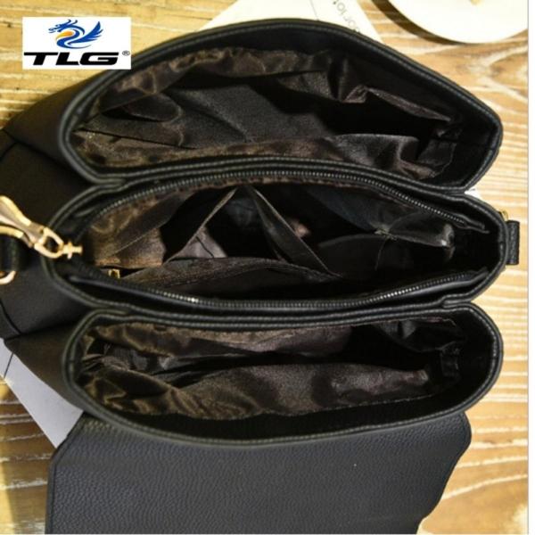 Túi nữ thời trang phong cách sang trọng Đồ Da Thành Long TLG 208084 4(kaki)