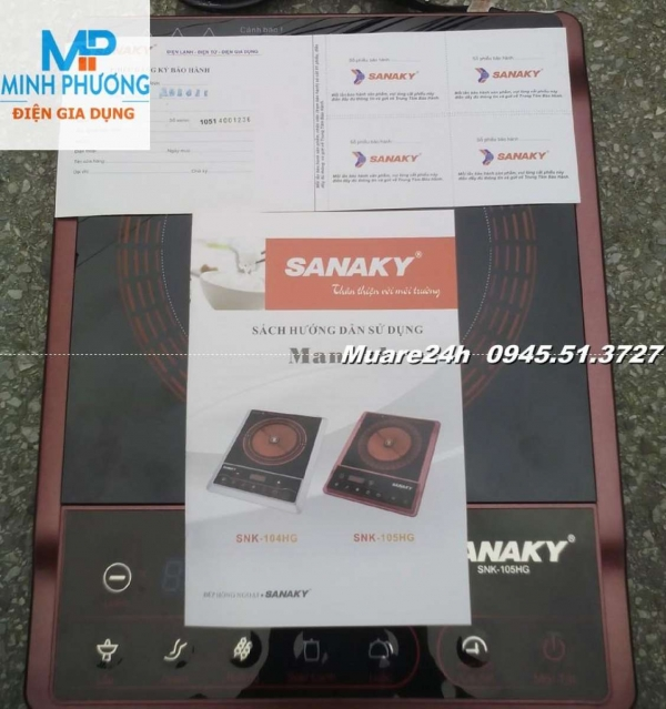 Bảo Hành 12 Tháng Bếp hồng ngoại Sanaky SNK105HG