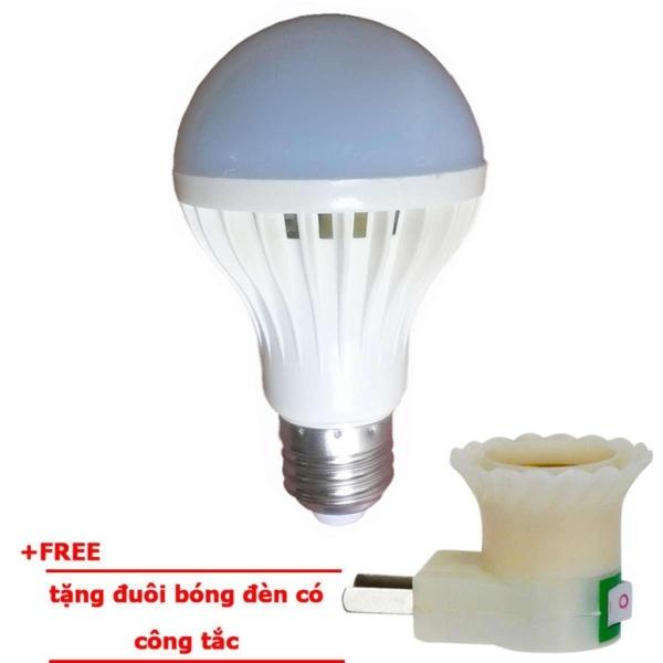 Bóng đèn Led cảm ứng tích điện 12W