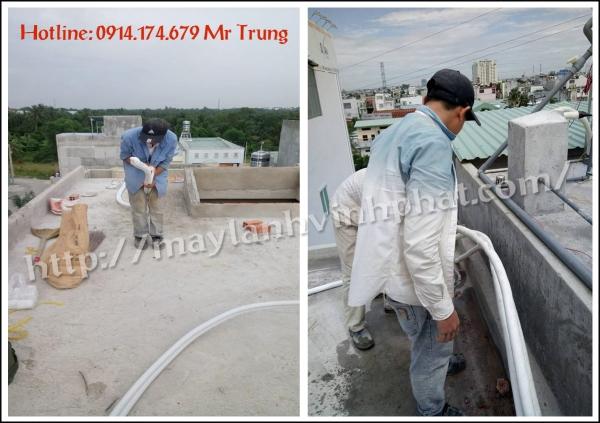 Thi công ống đồng quận 2 giá rẻ + vệ sinh và sửa chữa máy lạnh chuyên nghiệp