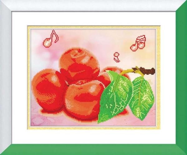 V075 Tranh gắn đá Fruit 2