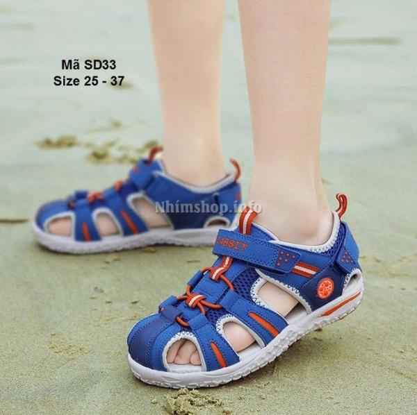 Dép Sandal Trẻ Em Xuất Khẩu Cho Bé 2.5 - 12 Tuổi SD33