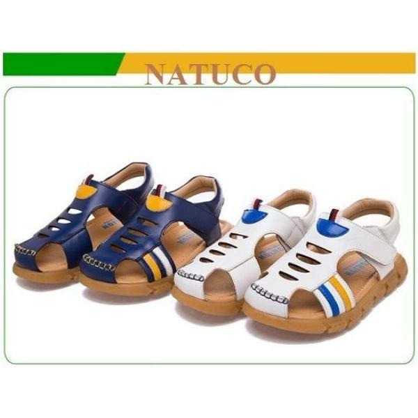Sandal bít mũi cho bé trai (mầu xanh lam đậm) - SBX04