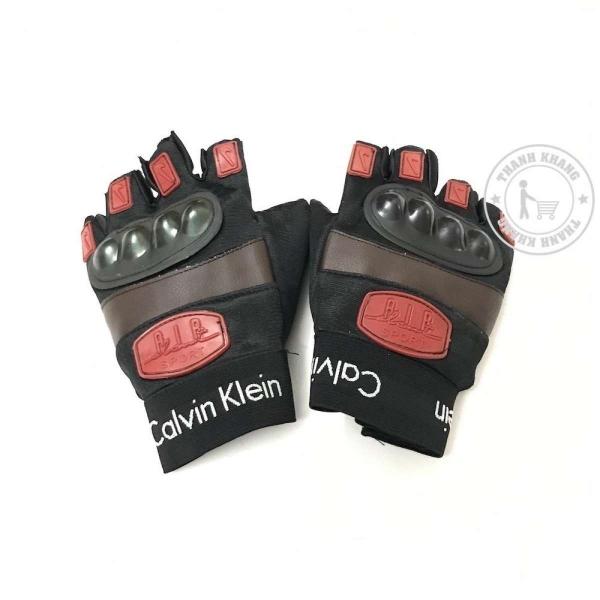 Găng tay phươt tập gym thể thao đa năng Thanh Khang 006001542 (đỏ đen)
