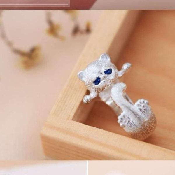 nhẫn mèo cute nhh324