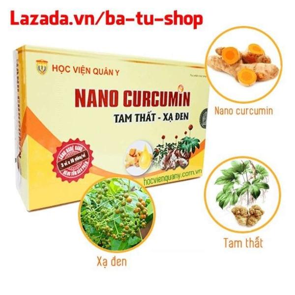 Combo 4 Nano Curcumin Tam That Xa Den HVQY