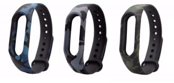Vòng đeo tay thay thế cho Xiaomi Miband 2 (Ran ri xám)