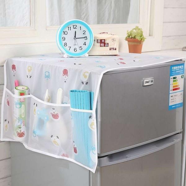 Tấm Phủ Tủ Lạnh Nasee  Có Ngăn Đựng Đồ Cao Cấp