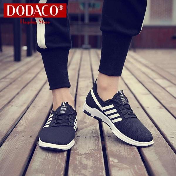 Giày sneaker nam giày thể thao nam DODACO LAS0016